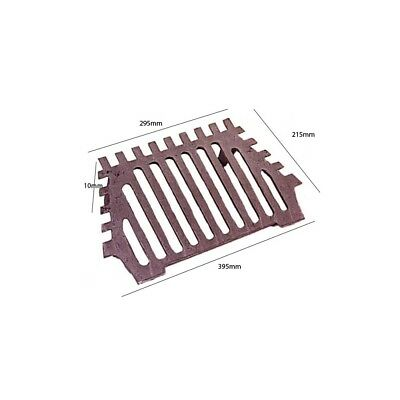 Queenstar 18 Inch Fire Grate 2 Legs Bottom Grate