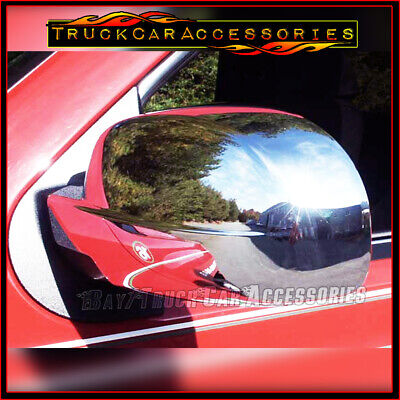 For CHEVY Silverado 2007 2008 2009 2010 2011 2012 2013 Chrome Full Mirror Covers