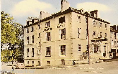 Lismore Hotel, Lismore, Co. Waterford, old coloured postcard, unposted