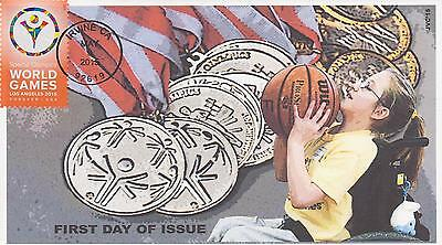 Jvc Cachets-2015 Special Olympics Issue First Day Cover Fdc Topical Sports #2