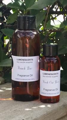Premium Fragrance Oils for candle/melts/soap making/oil burners -  30ml to 500ml