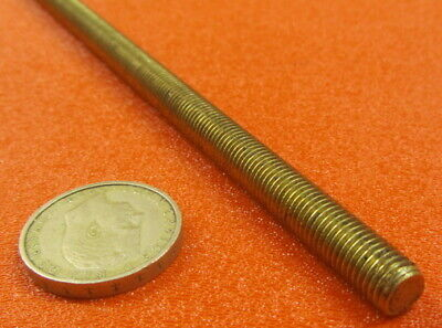 Threaded Brass Rods, RH, 5/16-24 x 2 Foot Length