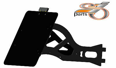 HARLEY DAVIDSON SOFTAIL DELUXE Support de plaque d'immatriculation latéral +