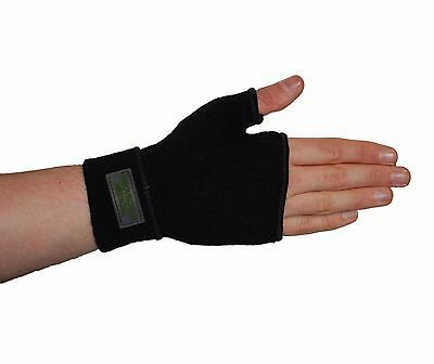 Black Palm Hand Wrist Thumb Splint Brace Support Pain Relief Fits left and right