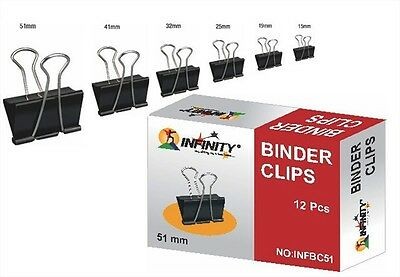Binder Clip for binding loose papers schools, Offices, banks, shops use