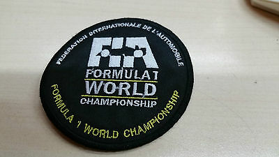 Patch, toppa, FIA Federation Internationale de l'Automobile formula 1 CUCIRE FN