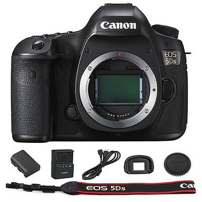 Canon EOS 5DS / 5D S Digital SLR DSLR Camera (Body Only) - Summer Time Sale
