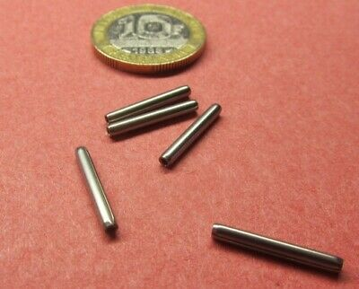 "420 Stainless Steel Coiled Spring Pin, 5/64"" Dia x 5/8"" Length, 50 pcs"