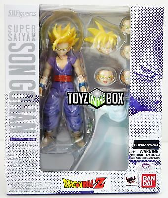 "In STOCK S.H. Figuarts ""Super Saiyan Son Gohan"" Dragonball Z DBZ Action Figure"