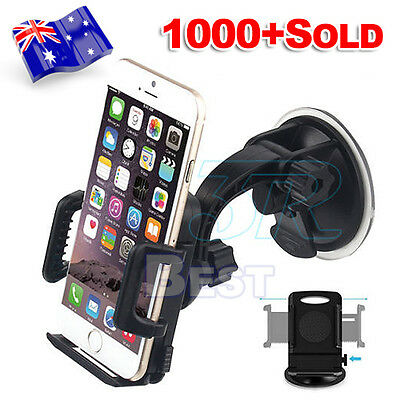 Universal Car Holder Windshield Cradle Stand Mount For Apple iPhone 5 6s 7 Plus