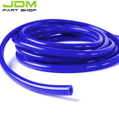 "ID:5/16"" 0.32"" 8MM SILICONE VACUUM HOSE TUBE PIPE RACING TURBO 1 foot 0.33m Blue"