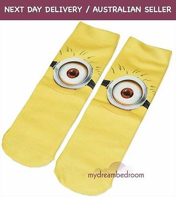 Despicable Me 2 Minions Socks (Stuart)