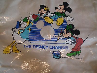The Disney Channel Bag with Mickey, Minnie and Donald on front painting Logo