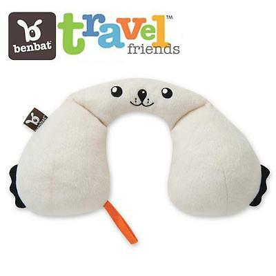 BenBat Travel Friends Infant Baby Support Pillow Comfy Neck Rest 0-1yr - Seal