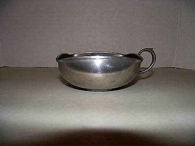 Vintage Royal Holland KMD DAALDEROP Unusual Pewter Porringer/nut /jam bowl