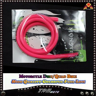 High Quality Pink 1M Racing Petrol/oil/fuel Hose/line/pipe Pit Quad Dirt Trail