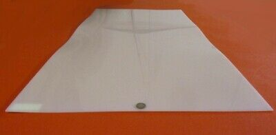 """- Natural Extruded 12/"""" x 24/"""" x 1//8/"""" Thick Acetal Copolymer Sheet Nominal"""
