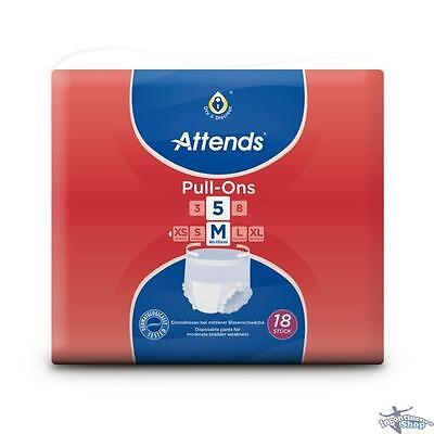 Attends Pull-Ons 5 Medium - Pack of 18