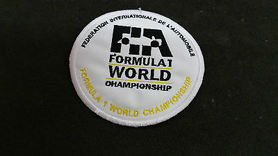 Patch, toppa, FIA Federation Internationale de l'Automobile formula 1 cucire