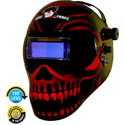 Save Phace 3011322 Gen Y EFP Welding Helmet Custom Gate Keeper Graphics