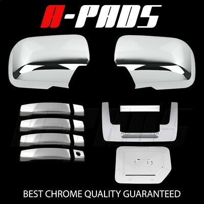 FOR NISSAN TITAN 04-12 CHROME COVERS 2 DOORS HANDLES+TAILGATE