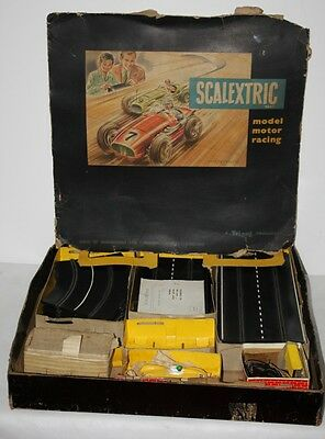 Vintage Rare 1957/ 1960 c SCALEXTRIC Mini Models Boxed Set # Untested # -PL-1260
