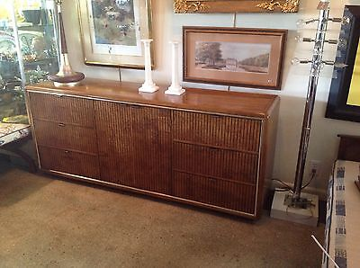 American Of Martinsivlle Sideboard Or Credenza  Mid Century Modern