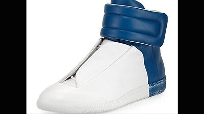 Maison Margiela Men's size 13 blue white