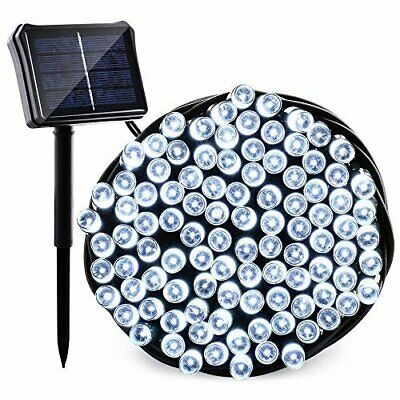 Waterproof 22M/200 LED Solar Powered Fairy String Light Garden Party Christmas