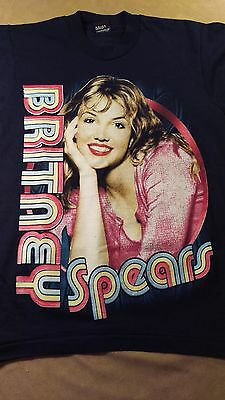 RARE Britney Spears 1999 Baby One More Time Concert T Shirt S Unworn First Tour!