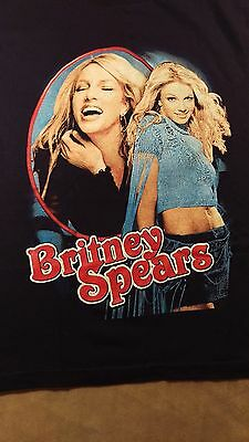 RARE Britney Spears 2002 Dream Within A Dream Concert T Shirt M Unworn