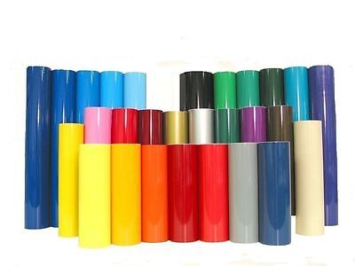 1Metre Roll Of Sticky Back Plastic Self Adhesive  Vinyl Wide Choice Of Colours