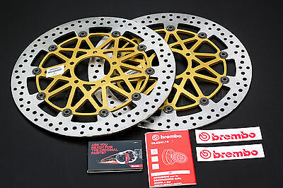 Pair of 330mm Brembo SuperSport Front Discs for Ducati 1199 Panigale - 208B85911