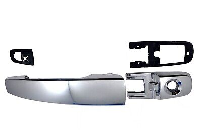 for Ford Focus Outside Exterior Outer Door Handle Driver Side Front Chrome ABS