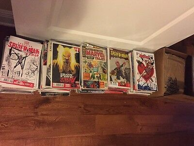Lot Of 20 Comic Books Marvel, DC & More Start Your Collection Today