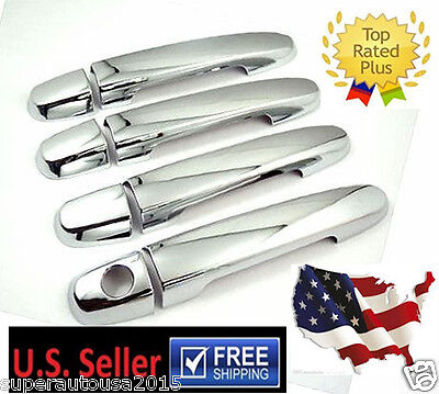 US Chrome Door Handle Cover  For Toyota 08 Corolla RAV4 Matrix Prius Scion Yaris