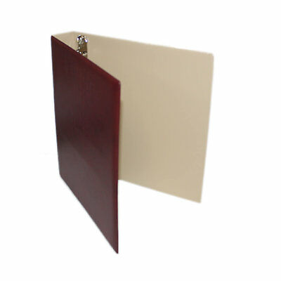 "Seven Seas 32mm ""D"" Ring Binder for Stamps and Banknotes - BURGUNDY"