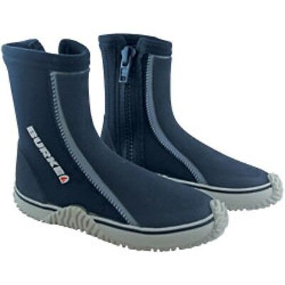 Burke Wet Suit Boots - Black - Fishing, Diving, Snorkeling, Skuba