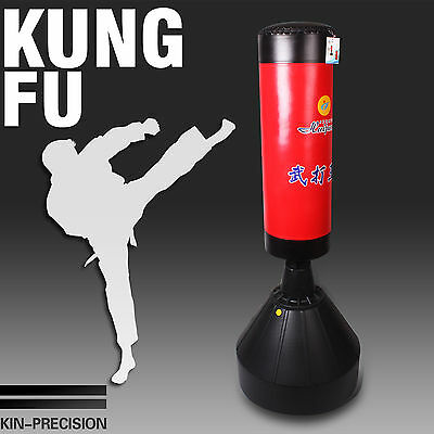 New Large Free Standin Boxing Stand Home Gym Training Kick Bag Fitness Exercise