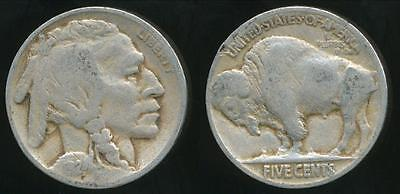 United States, 1924 5 Cents, Buffalo Nickel - Fine