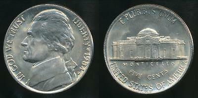United States, 1984-D 5 Cents, Jefferson Nickel - Uncirculated