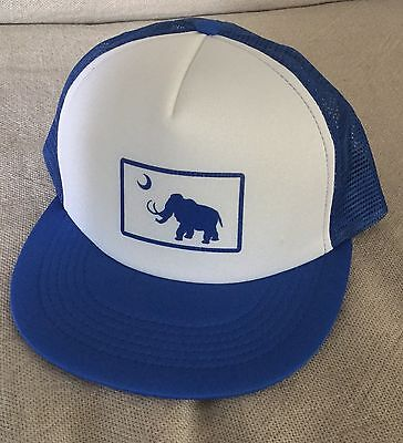 Widespread Panic Grateful Dead Phish Big Wooly Mammoth Hat Flat Bill Free Ship!!