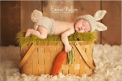 Newborn Baby  Infant Knitted Crochet Costume Photo Photography Prop A52
