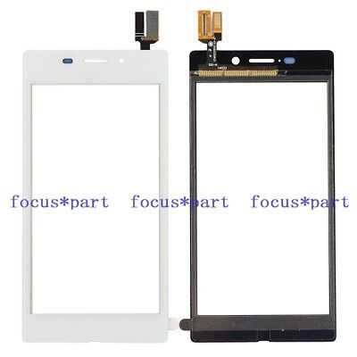 New White Touch Screen Digitizer Glass Panel For Sony Xperia M2 Aqua D2403 .