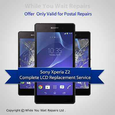 Repair Service For Sony Xperia Z2 LCD Screen Glass Replacement Service