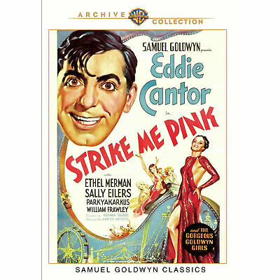 Strike Me Pink - DVD - 1936 Eddie Cantor, Ethel Merman, Sally Eilers