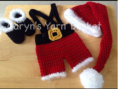 Newborn Baby  Infant Knitted Crochet Costume Photo Photography Prop A128