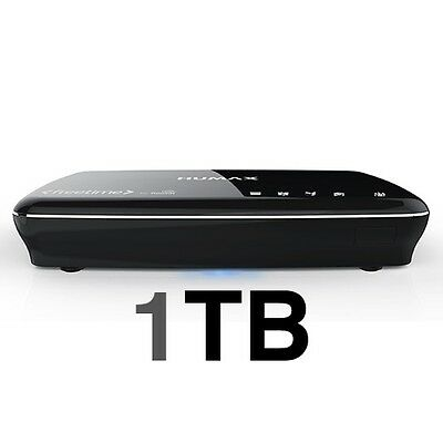 Freesat+ HD Humax HDR-1100S Black 1000GB/1TB PVR Freetime 7 Day Catch Up TV