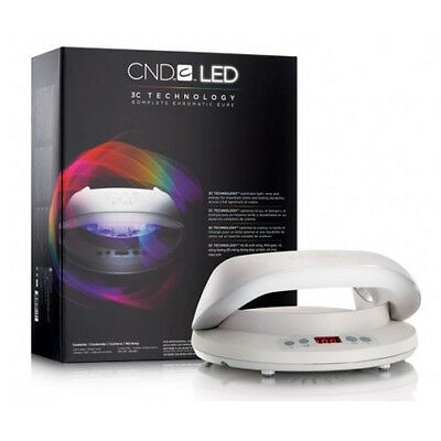 CND LED Lamp 3C Technology Complete Chromatic Cure - Shellac Brisa