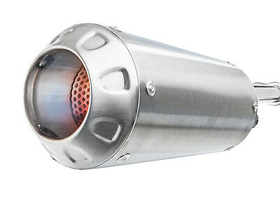 06-16 Yamaha YZF R6 Stainless Steel MGP Growler Slip On Exhaust